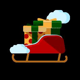 шейна с подаръци