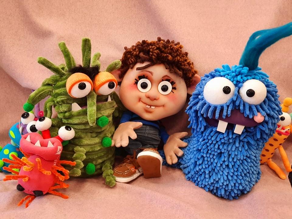 Приказка за Боби и шайка микроби