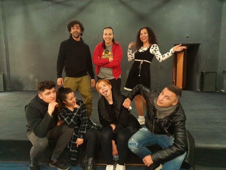 Актьорите от Държавен Куклен Театър - Русе се включиха активно в кастингите за Импро Театър