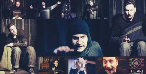 Заро Кнезовски гостува на Държавен Куклен Театър - Русе с 3 моноспектакъла през ноември